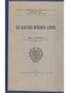 Les Clausules Metriques Latines