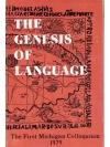 Genesis of Language