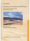 Schriften zur nordischen Philologie