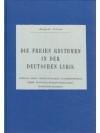 Die freien Rythmen in der deutschen Lyrik