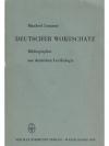 Deutscher Wortschatz