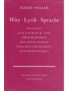 Witz - Lyrik - Sprache
