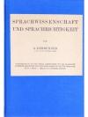 Sprachwissenschaft und Sprachrichtigkeit