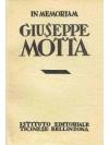 In memoriam Giuseppe Motta