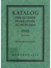 Katalog der älteren Pinakothek zu München
