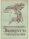Innerschweizerisches Jahrbuch für Heimatkunde I