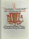 Rorschacher Neujahrsblatt und Schreibmappe für 1..