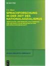 Sprachforschung in der Zeit des Nationalismus