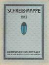 Schreibmappe 1913