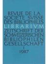 Librarium 1987 30. Jahr