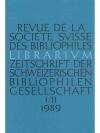 Librarium 1989 in 2 Heften