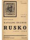 Katalog Známok Konvolut (14 Stk.)