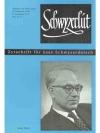 Schwyzerlüt 25. Jahrgang Nr. 2 - Georg Thürer
