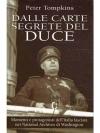 Dalle carte segrete del Duce