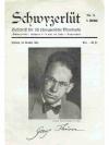 Schwyzerlüt 6. Jahrgang No. 9   -   Georg Thürer