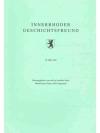 Innerrhoder Geschichtsfreund 38. Heft 1997
