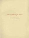 Berner Schreibmappe 1951/52