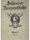 Schweizer Kriegsgeschichte. 4 Bände