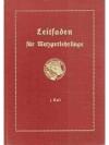 Leitfaden für Metzgerlehrlinge I. Teil