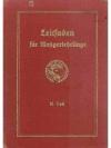 Leitfaden für Metzgerlehrlinge II. Teil