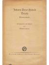 Johann Peter Hebels Briefe