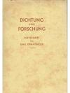 Dichtung und Forschung. Festschrift für Emil Erm..