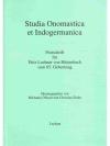 Studia Onomastica et Indogermanica