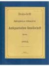 Denkschrift zur fünfzigjährigen Stiftungsfeier d..