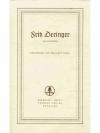 Fritz Deringer als Zeichner
