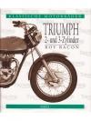 Klassische Motorräder. Triumph 2- und 3-Zylinder