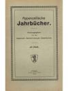 Appenzellische Jahrbücher 47. Heft