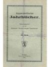 Appenzellische Jahrbücher 48. Heft
