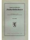 Appenzellische jahrbücher 65. Heft