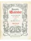 Appenzeller Kalender auf das Jahr 1952