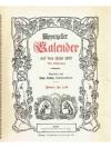 Appenzeller Kalender auf das Jahr 1955
