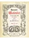 Appenzeller Kalender auf das Jahr 1956