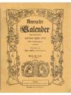 Appenzeller Kalender (Schreibkalender) auf das J..