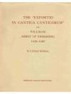 "The ""Expositio in Cantica Canticorum"" of Willira.."