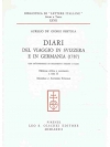 Diari del viaggio in Svizzera e in Germania (1787)
