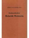 Seminardirektor Heinrich Wettstein