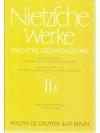 Nietzsche Werke II3