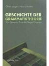 Geschichte der Grammatiktheorie