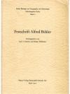 Festschrift Alfred Bühler