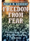 Freedom from Fear: The American People in Depres..