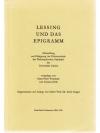 Lessing und das Epigramm
