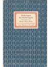 Rilke: Dichtungen des Michelangelo