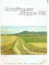 Schaffhauser Mappe 1981