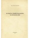 Der Begriff der Selbsthilfe-Genossenschaften im ..