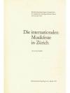 Die internationalen Musikfeste in Zürich