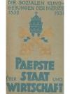 Die sozialen Kundgebungen der Päpste 1832/1931